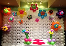 cute flower desaign picture multicolored accessory ballon wall and