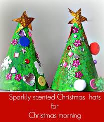christmas tree hat christmas crafts for kids christmas tree hat craft littles