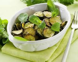cuisiner des courgettes à la poele recette poêlée de courgettes à la menthe