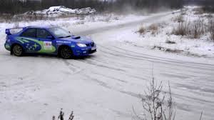 subaru rally snow how to perform an adequate scandinavian flick in subaru impreza