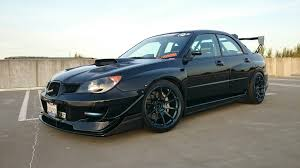 widebody subaru forester rare parts galore msport widebody varis carbon fiber hood and