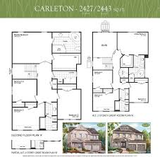 carleton floor plans carleton courtice woods communities jeffery homes cooper