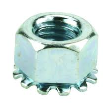 Decorative Wing Nuts Crown Bolt 3 8 In Zinc Fine Thread Lock Nuts Kep 2 Pieces 40138