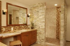 glass tile bathroom backsplash amazing glass tile bathroom backsplash neutral natural stone mosaic this
