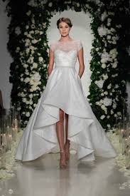 high low wedding dress port s wedding dress get the high low look inside weddings