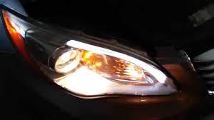 2013 chrysler 200 test headlights install new bulbs low high