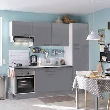 cuisine ikea gris brillant peinture brillante cuisine élégant meuble de cuisine blanc