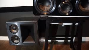 klipsch home theater speakers klipsch 525 thx ultra 2 vs svs ultra center speakers amatuer