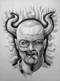 walter white demon 1 breaking bad how to draw dibujando