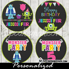 Monster Inc Decorations Monster Inc Party Supplies Archives Cupcakemakeover