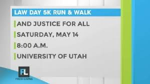 and justice for all day 5k run walk kutv