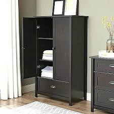Closet Storage Cabinets Armoire To Hang Clothes Wardrobe Closet Storage Cabinet Espresso