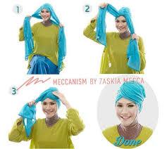 tutorial hijab paris zaskia tutorial hijab zaskia mecca hijab fashion pinterest mecca