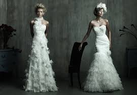 feather wedding dress 2011 wedding dress trend feather accented wedding dresses