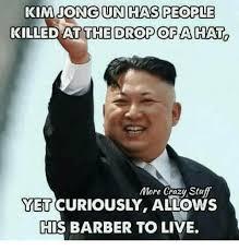Kim Jong Meme - kim jong un haircut meme