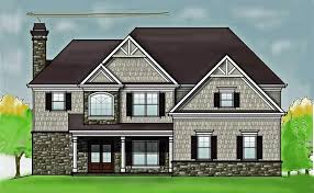 cheap 2 story houses 2 story 4 bedroom rustic house floor plan by max fulbright