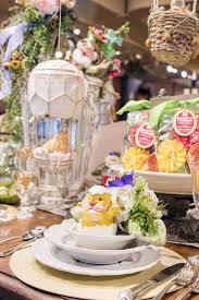 spring table setting decor