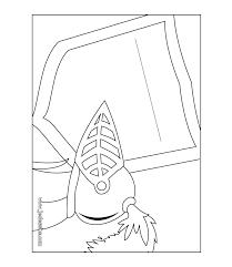 coloriages coloriage de la pancarte de porte du chevalier fr