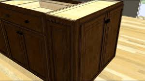Unfinished Kitchen Island Unfinished Kitchen Island Base Cabinets Only Breathingdeeply