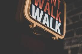NYC don t walk sign Picture of Salt Dog Slim s Liverpool