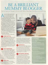 be a brilliant mummy blogger a baby on board blog
