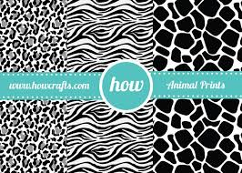 zebra print wrapping paper howcrafts marketplace for premium printables