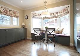 home design breakfast nook bay window home remodeling