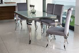 Silver Dining Tables Louis Silver Dining Table 2000 Doyle