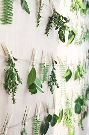 73 Best Deco Garland Images by Hanging Leaves Wall Backdrop By A Splendid Occasion Bloggers