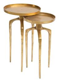 antique coffee table zuo zuo modern como accent table set antique gold