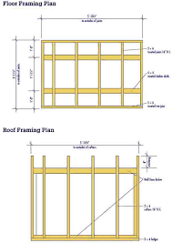 Wall Blueprints Lean To Shed Plans U2013 Free Diy Blueprints For A Lean To Shed