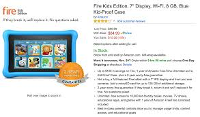amazon prime black friday free black friday week deal alert amazon kindle fire kids edition 84 99