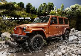 orange jeep rubicon jeep 4wheel online blog automotive news