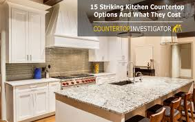 Countertop Options For Kitchen by Plain And Simple Countertop Price Chart
