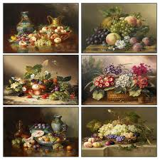 fruit and flower basket painting fruit diamond mosaic embroidery 5d diamond
