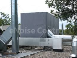 Sound Barrier Curtain Rooftop Air Handling Unit Sound Curtain Barrier Enoisecontrol