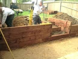 Retaining Garden Walls Ideas Diy Garden Retaining Wall Nightcore Club