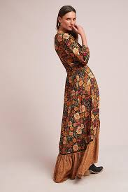 what is a maxi dress farm madrid wrap maxi dress anthropologie