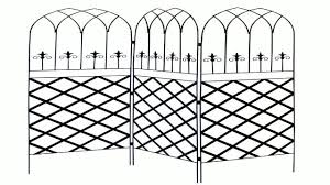 panacea 89660 gothic garden screen trellis with lattice 72 inch