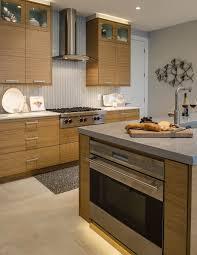 Best Apt Kitchen Images On Pinterest Bricks Home And Ideas - Bamboo backsplash