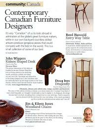 Canadian Woodworking Magazine Facebook by Wiggers Custom Furniture Ltd Canadian Woodworking Magazine