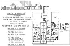 5 bedroom 3 bath floor plans sensational ideas 3 5 bedroom 4 bath house plans car garage floor