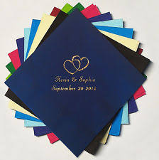 personalized wedding napkins personalized napkins tableware serveware ebay