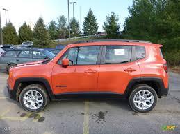 orange jeep 2016 omaha orange 2016 jeep renegade latitude 4x4 exterior photo