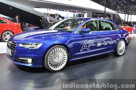 maserati tron audi a6 l e tron side angle at auto shanghai 2015 indian autos blog