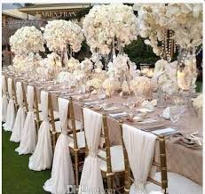 wedding chair covers and sashes simple but white chiffon wedding chair cover and sashes