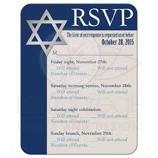 thanksgiving card wording bar mitzvah rsvp card royal blue tan white star of david