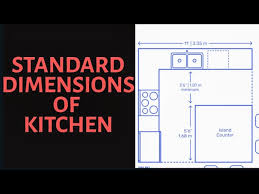 standard kitchen cabinet height standard kitchen dimensions