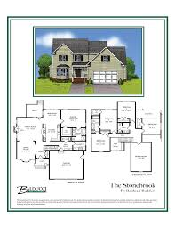 traditional home floor plans stonebrook two story traditional