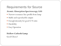 hollow cathode l in atomic absorption spectroscopy atomic absorption emission spectroscopy ppt video online download